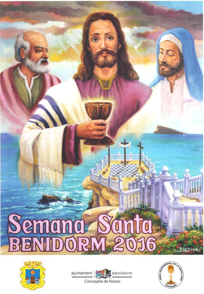 Cartel de la Semana Santa de Benidorm 2016