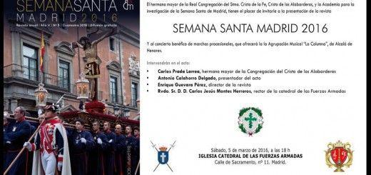 Concierto de la A. M. La Columna en la Catedral Castrense de Madrid