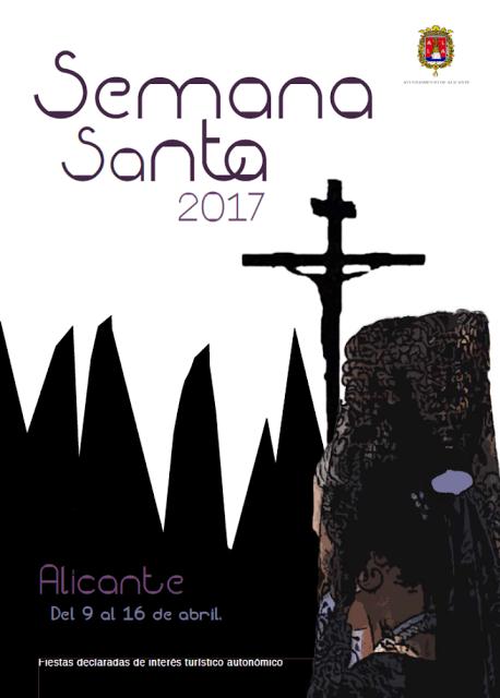 Cartel Semana Santa de Alicante 2017