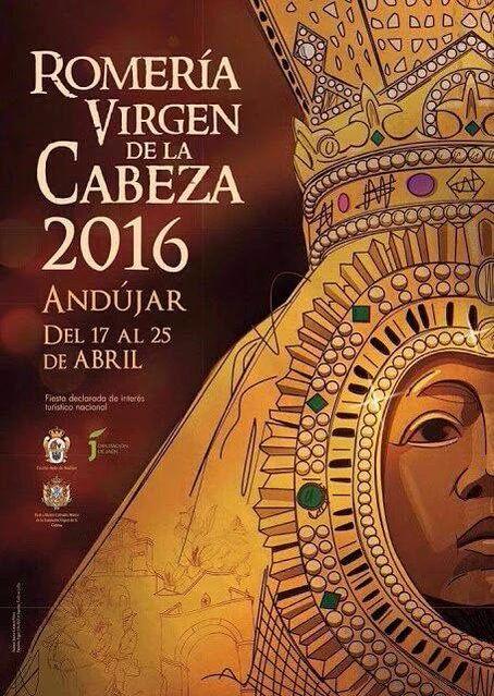 Cartel Romería Virgen Cabeza 2016