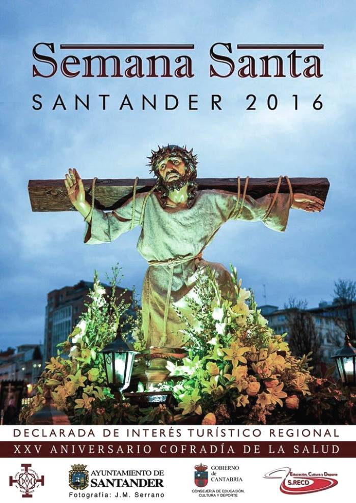 Cartel Semana Santa Santander 2016