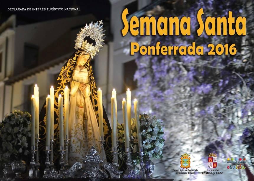 Cartel de la Semana Santa de Ponferrada 2016