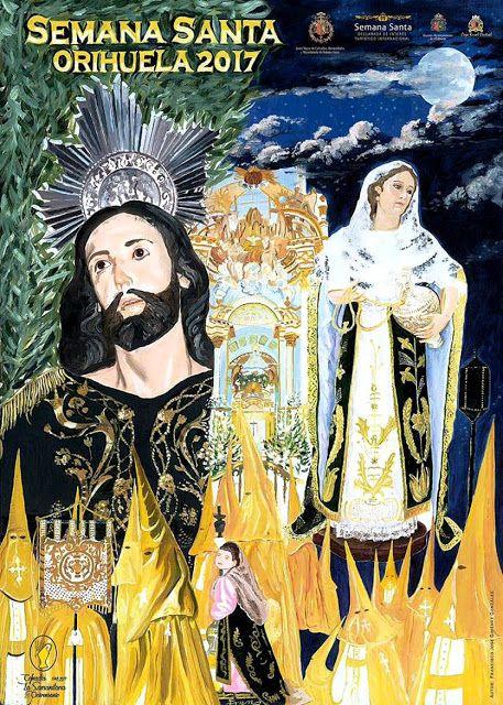 Cartel de la Semana Santa de Orihuela 2017