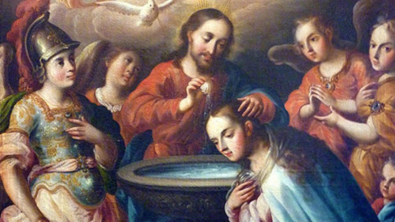 símbolos del bautismo mas conocidos
