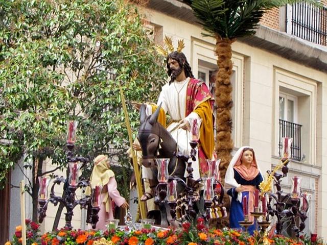 La borriquita de Madrid: Semana Santa