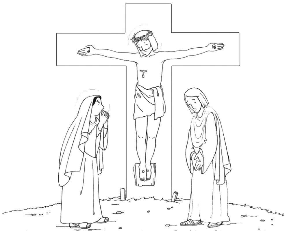 imagenes de semana santa para colorear 10