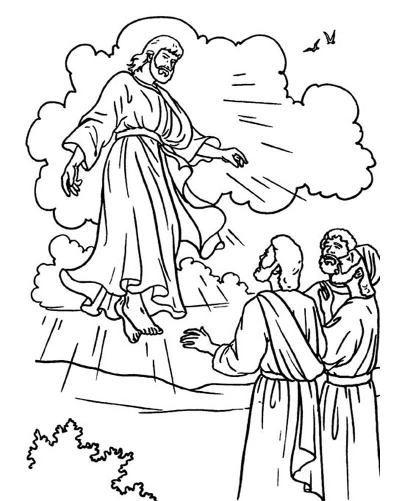 imagenes de semana santa para colorear 7