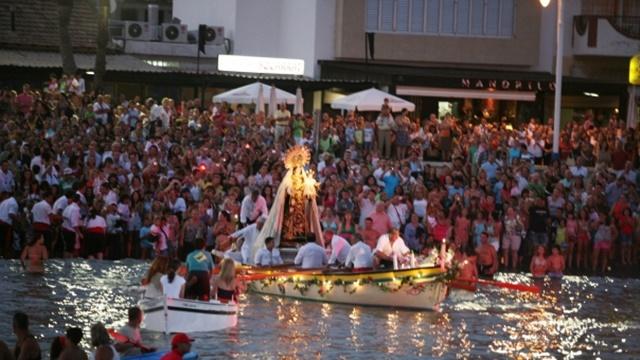 La Procesión de la Virgen del Carmen
