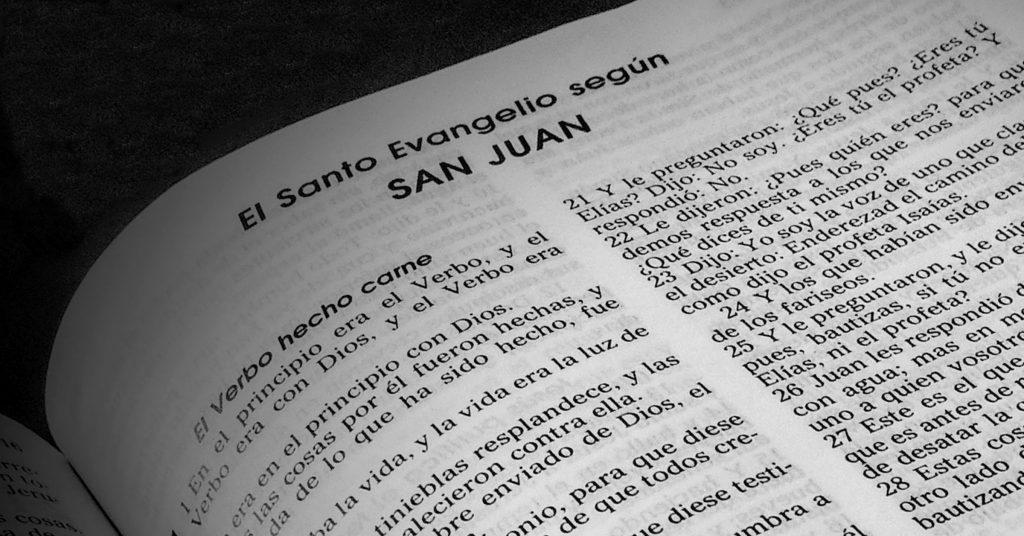 evangelio según san juan bautista