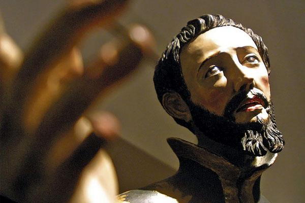 arte religioso en miniatura