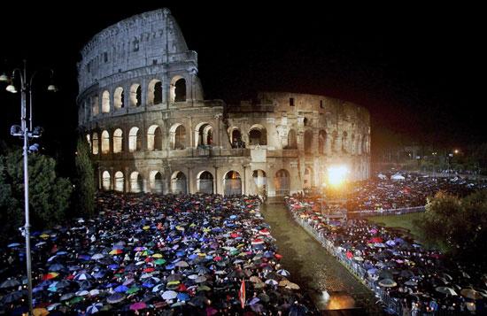Como se celebra la semana santa en Roma